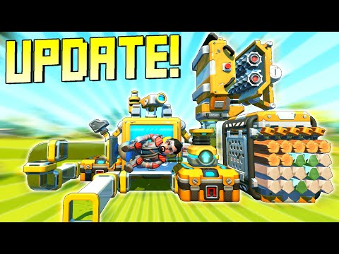 NEW UPDATE Brings Crafting to Creative Mode, and Powerful New Commands! – Scrap Mechanic Gameplay