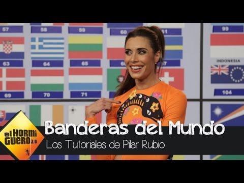 Pilar Rubio se sabe todas las banderas del Mundo - El Hormiguero 3.0
