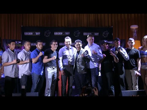 Oscar De La Hoya announces debut of LA Fight Club - Full press conference video