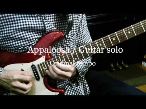 Gino Vannelli / Appaloosa Carlos Rios's Guitar Solo ~ Slow Tempo For Practice