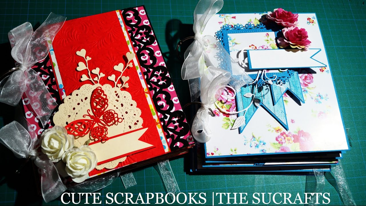 how to make cute scrapbook pages