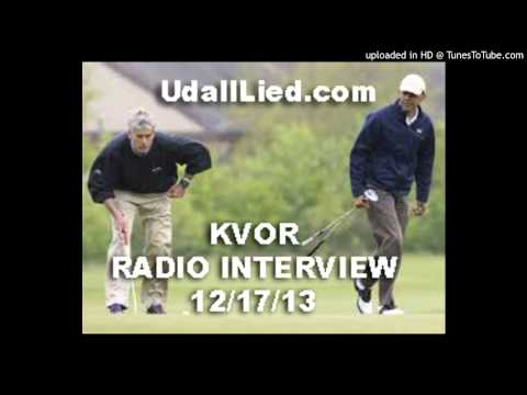 Udall Lied KVOR Radio Interview
