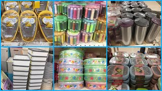 Dmart Kitchen Organisers Haul.Kitchen Products For Very Cheap Prices.Dmart Glass Jars.Dmart Haul-22.