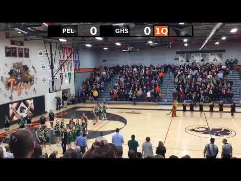 Grinnell Tigers Varisty Girls Basketball vs. Pella High School Girls Varsity Basketball; 02/21/18