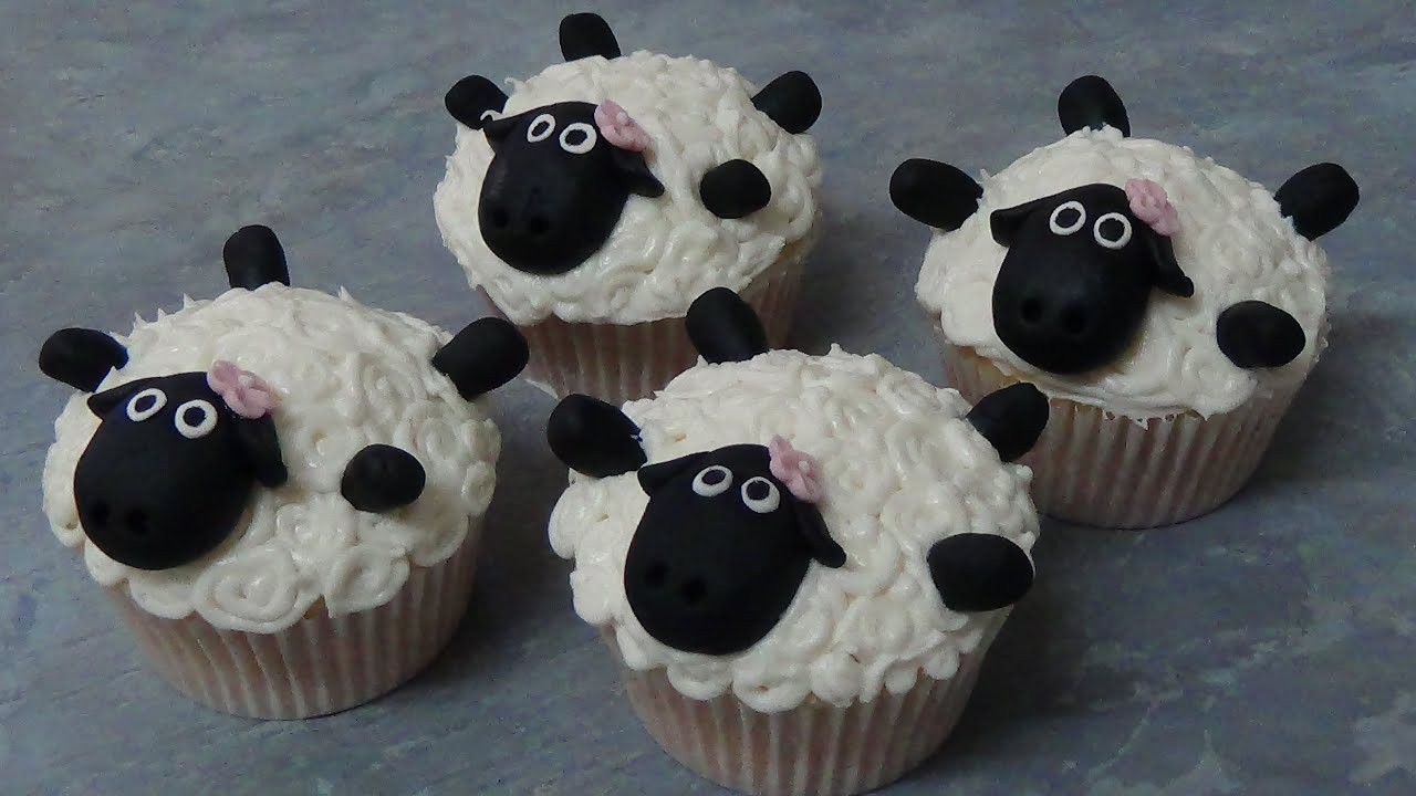 Year Of The Sheep Cupcakes Youtube