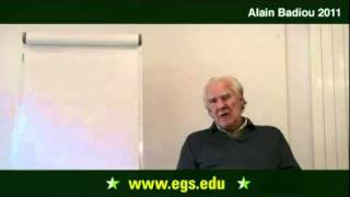 Alain Badiou. Questions Concerning The Infinite. 2011
