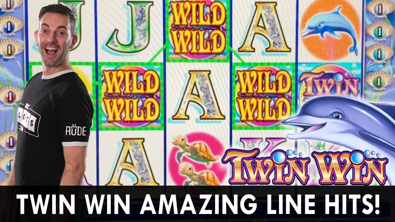 🐬 AMAZING TWIN WIN LINE HIT 🎰 BILLIONS Wheel Bonus Madness 💵 BCSlots