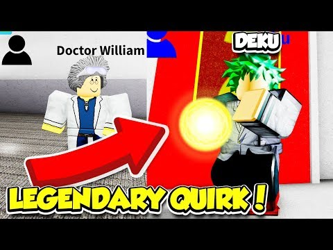 GETTING A LEGENDARY QUIRK IN MY HERO ACADEMIA SIMULATOR!! (Roblox)