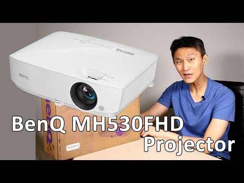 BenQ MH530FHD Projector In Action -Review