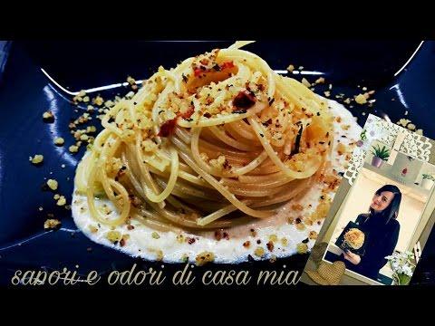 Spaghetti Aglio,Olio,Peperoncino e Crema di Grana
