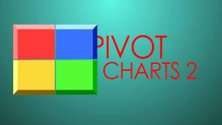Pivot Charts vs regular Charts and How to manipulate Pivot Charts