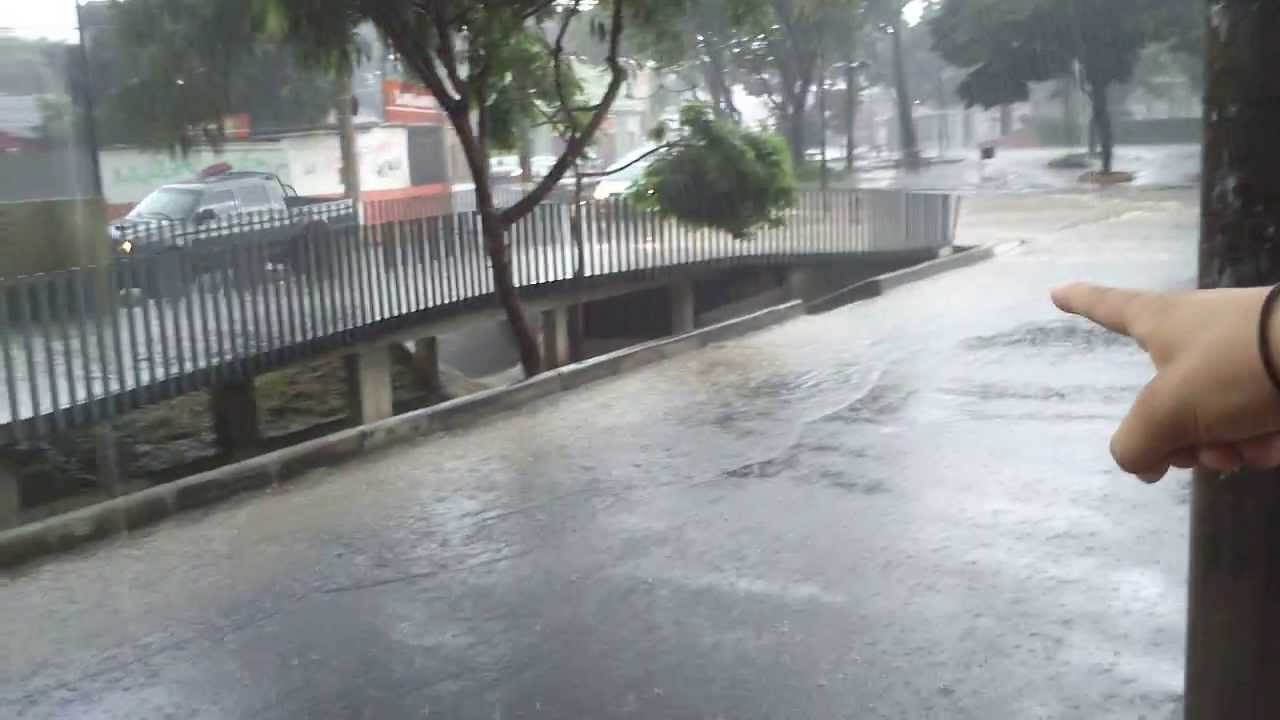 Chuva No Bairro Tirol Bh Mg Hd Youtube