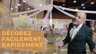 Les conseils et astuces pour métamorphoser votre Décoration de salle de Mariage !