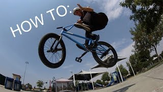 How to Crankflip Barspin BMX - The Fastest Way