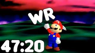 Super Mario 64 World Record - 70 Star Speedrun in 47:20.03 (Stream VOD)