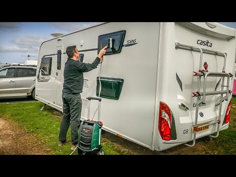 Bosch Fontus Review - Cleaning our caravan