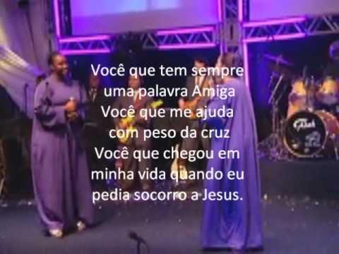 Elaine Martins E Nívea Silva Você Dvd Letra Youtube