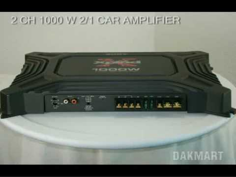 hqdefault sony xm 1652z 2 channel 1000 watt 2 1 car amplifier xm1652z sony xplod 1000 watt amp wiring diagram at fashall.co