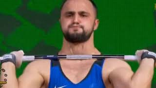 Нижат Рахимов (КАЗ) - Бронза Чемпионат мира-2018 тяжелая атлетика / Weighlifing World Champioships
