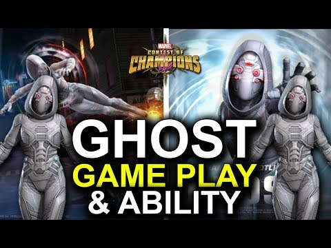 GHOST GAME PLAY & ABILITY - MCOC - MARVEL CONTEST OF CHAMPIONS