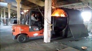 Производство древесного угля. Углевыжигательная печь УМТ2