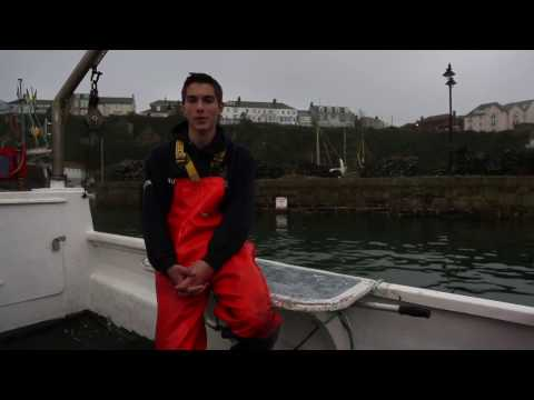 Cornwall Good Seafood Guide. Meet the Fisherman Ben Lowe
