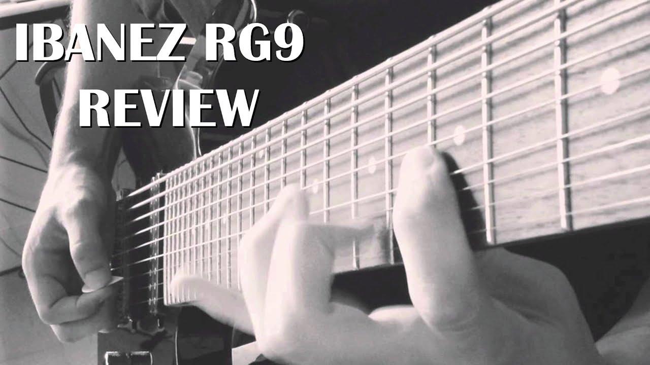 Ibanez RG9 review || Uninspired chug-chug-twang-twang - YouTube