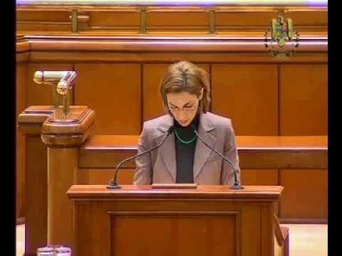 Carmen Moldovan declaratie politica 2010-02-23 Alocatii copii.avi