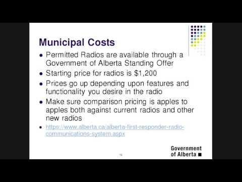 Alberta First Responders Radio Communications System