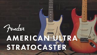 American Ultra Stratocaster | American Ultra Series | Fender