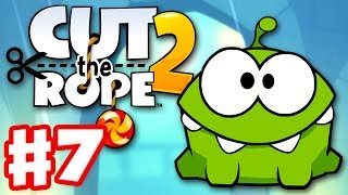 Cut the Rope 2 - Gameplay Walkthrough Part 7 - City Park! 3 Stars! (iOS, Android)