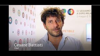 La videointervista allo chef Cesare Battisti