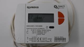 Qundis Q heat 5 Wärmezähler & die wichtigsten Werte für die Heizkostenabrechnung