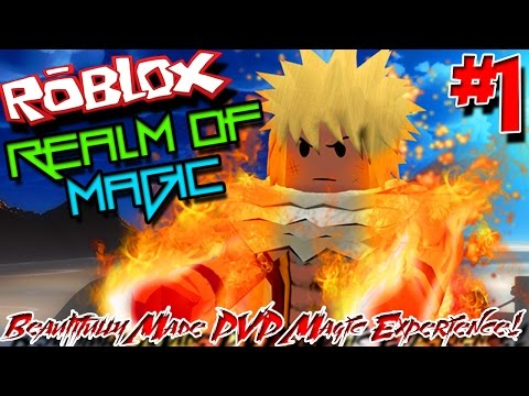 BEAUTIFULLY MADE PVP MAGIC EXPERIENCE! | Roblox: Realm of Magic - Episode 1