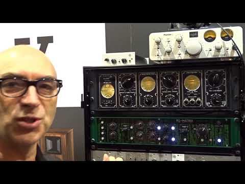 Roger Schult W2344 MK2 - RS-MATRIX & U2379 - tube distortion amplifier - Musikmesse 2018