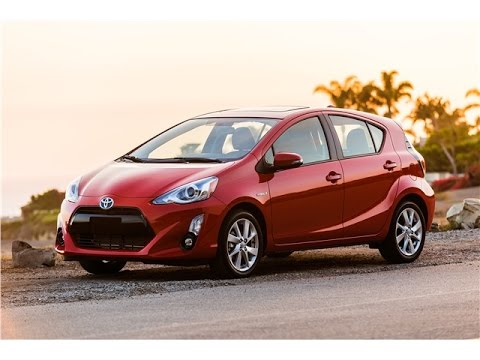 Toyota Prius C 2017 Car Review