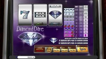 Diamond Dare™ free slots machine game preview by Slotozilla.com