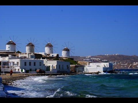 Mykonos Island Guide, Greece - Historic Windmills, Little Venice and Super Paradise