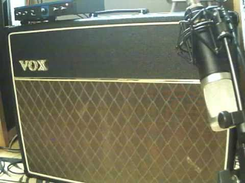 Vox AC30CC2 + Gibson Les Paul with Phat Cats on