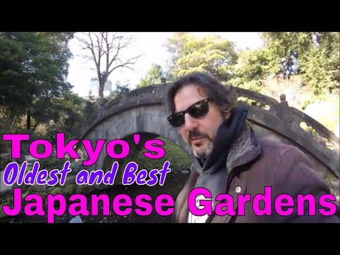 Japan, Tokyo: Koishikawa Kōrakuen Gardens in the Heart of the City