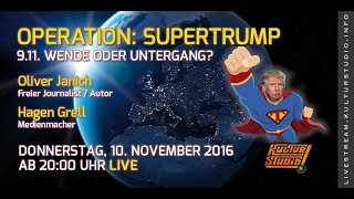 Operation: SuperTRUMP – 9.11. Wende oder Untergang?