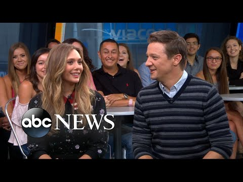 Elizabeth Olsen and Jeremy Renner open up about 'Wind River'