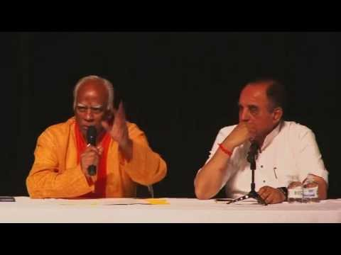 Dr. K H Prakash rao speaking at event Symposium by Dr Subramaniam Swamy in Dallas