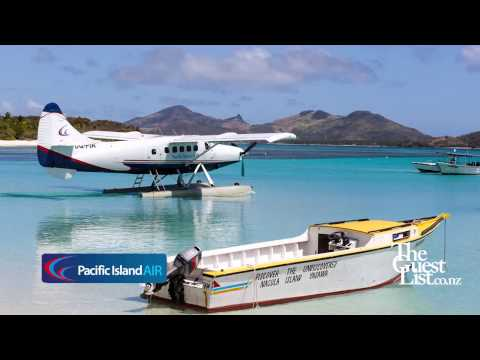 Resort transfers Fiji - Pacific Island Air - Seaplanes and Helicopters