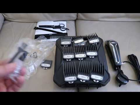 Wahl Elite Pro Main Hair Clipper Kit Unboxing Professional Hair Clippers