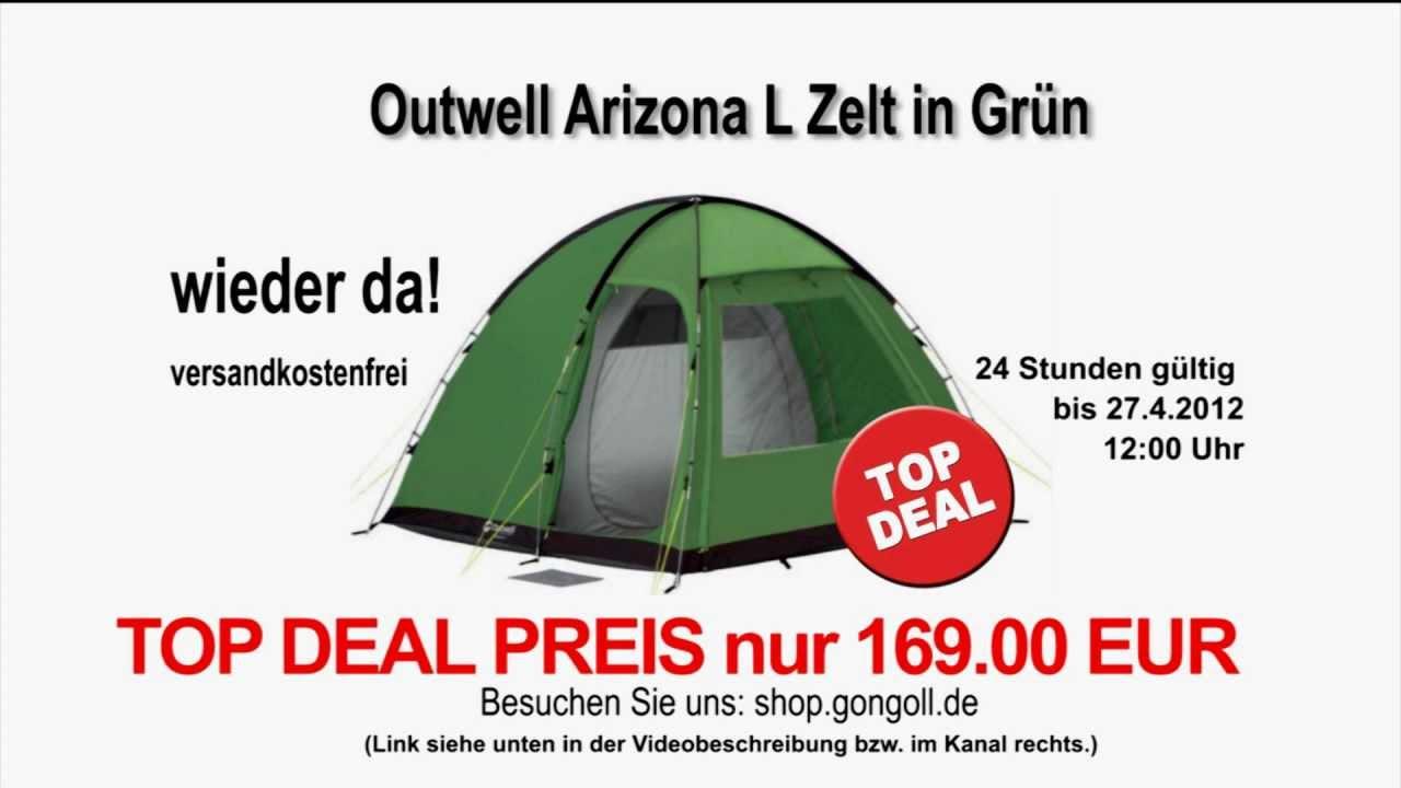 outwell zelt arizona