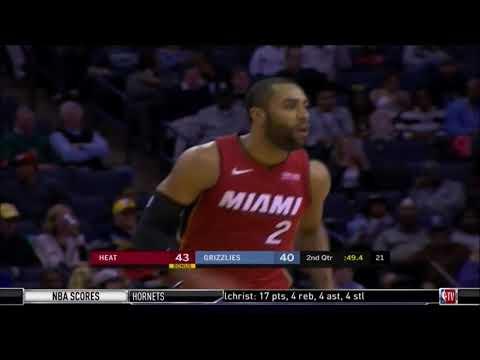 December 11, 2017 - NBATV - Game 26 Miami Heat @ Memphis Grizzlies - Win (13-13)(NBA Gametime)