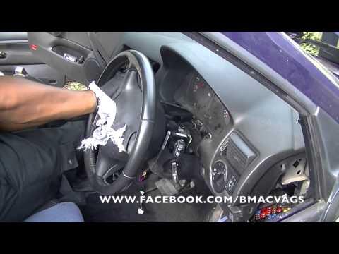 VW Golf Mk4 Dashboard Removals