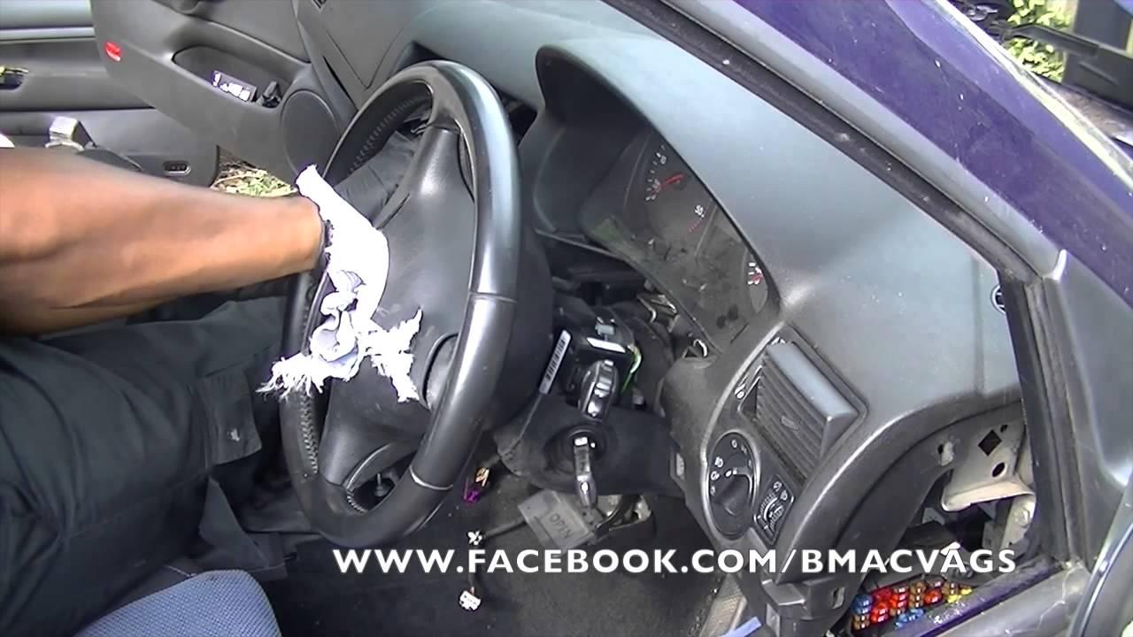 VW Golf Mk4 Dashboard Removals  YouTube