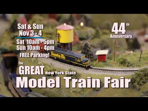 Great New York State Model Train Fair Syracuse NY November 3-4, 2018